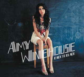 AMY WINEHOUSE BLACK TO BLACK LP VINILO NUEVO