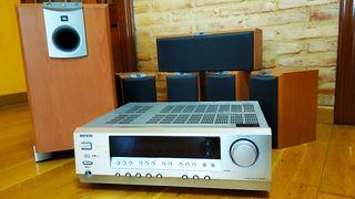 Home Cinema Onkyo 5.1 320w y altavoces.