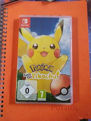 pokemon lets go pikachu Nintendo switch