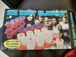 Vasos de chupito para congelador. A ESTRENAR