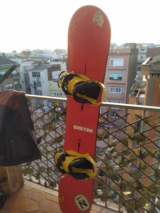 Tabla Snowboard Burton Hero 155cm c/ fijaciones