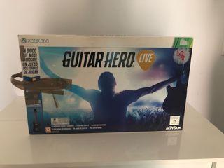 Guitarra guitar hero live xbox 360