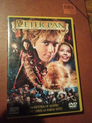 DVD pelicula Peter Pan la gran aventura
