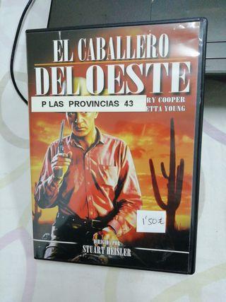 El caballero del oeste. Stuart Heisler. Peli DVD.