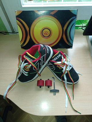 Zapatillas con ruedas (Heelys)