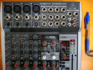 mesa de mezclas Xenyx QX1202USB