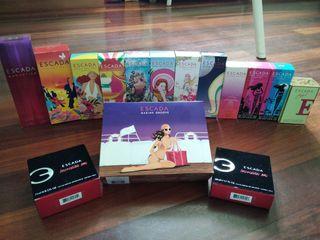 Colección cajas perfume escada