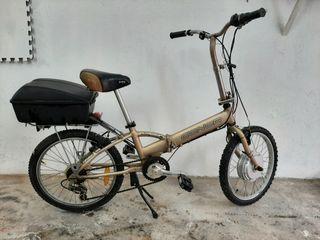 Bicicleta Conor eléctrica plegable vintage