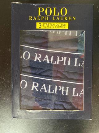 Pack 3 boxers Ralph Lauren talla S.