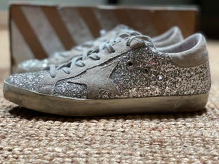 Golden Goose supestar purpurina