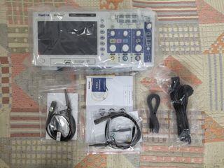 Osciloscopio Hantek, DSO5102P de 100MHz y 1GSa/s