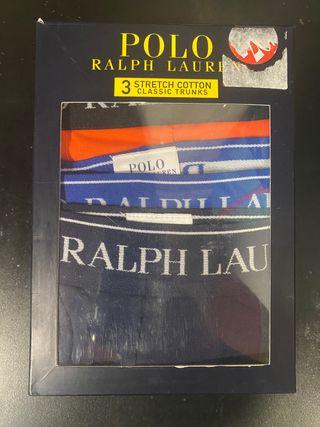 Pack 3 boxers Ralph Lauren talla XXL