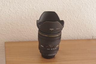 Objetivo Sigma 20-40mm f2.8 Pentax + Filtro