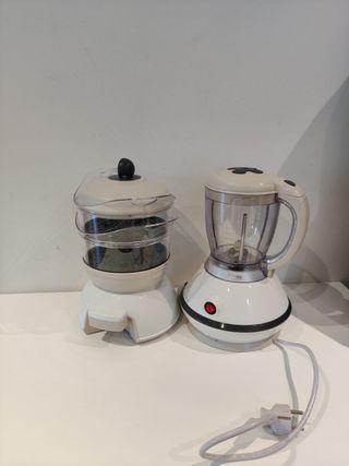 Maquina para triturar y Cocinar vapor