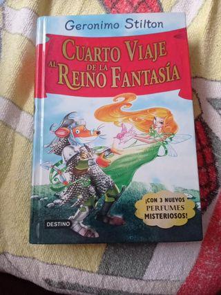Gerónimo Stilton, el cuarto viaje al reino de