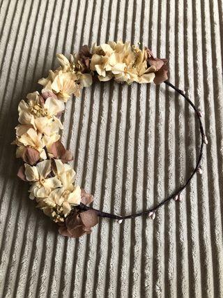 Corona de flores comunión