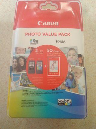 Canon PG-540XL+CL-541XL Cartuchos de tinta