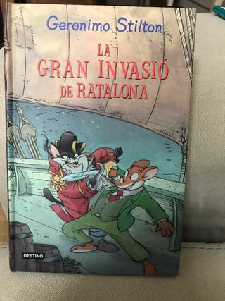 Libro la gran invasión de ratalona