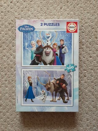 2-in-1 Frozen Puzzle