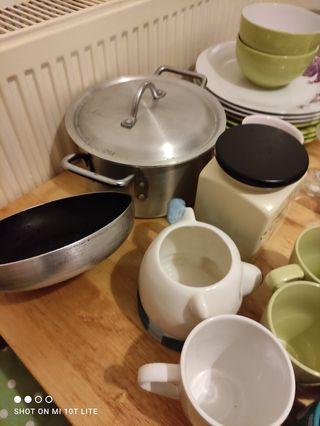 kitchen items joblot.