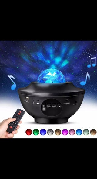 Proyector LED de galaxia colorida para fiesta