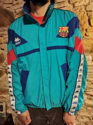 Chaqueta L FC Barcelona Kappa vintage Cruyff 1994