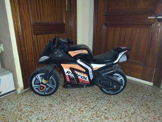 mini moto eléctrica injusa resol para niño
