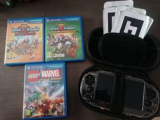 Playstation Vita +3 juegos