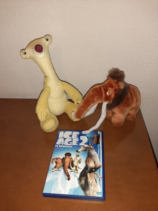 """PELICULA Y PELUCHES """"ICE AGE 2"""""""