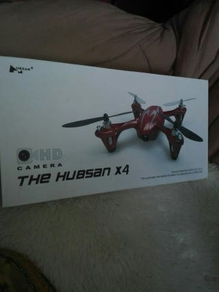 Dron hubsan x4 con camara hd sin usar