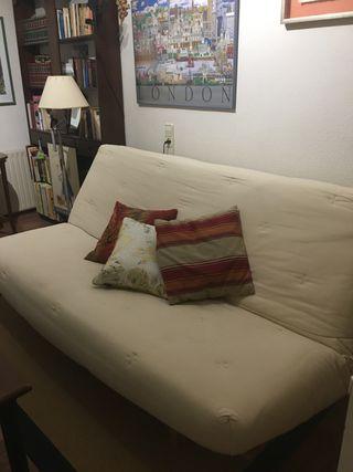 Sofá cama con base excepcional