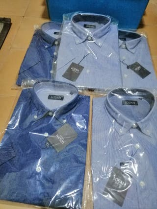 camisas de hombre de manga corta.