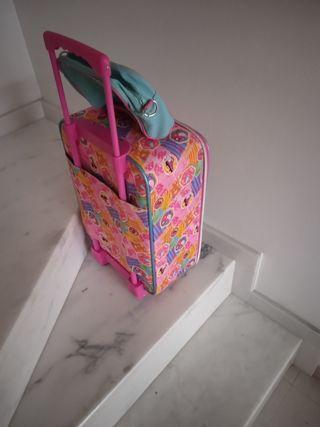 maleta y bolsa de aseo de Soy Luna