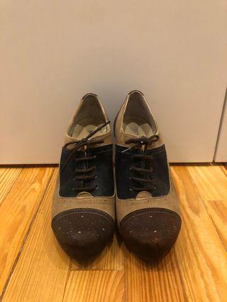 Zapatos tacón 35