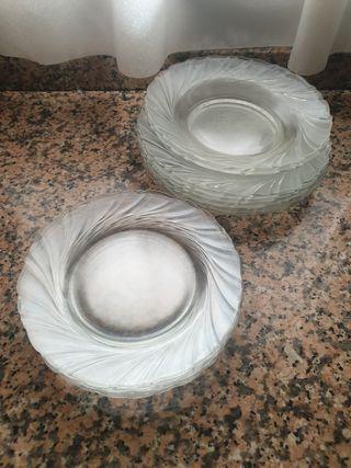 platos transparentes vereco