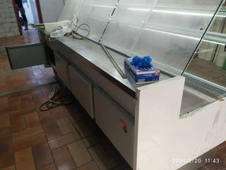 mostrador frigorífico.