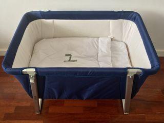 Minicuna Babyhome Dream azul