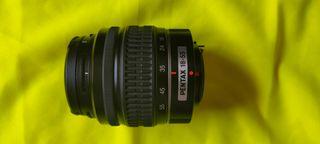 objetivo Pentax 18-55 mm