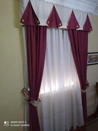 Conjunto de cortinas