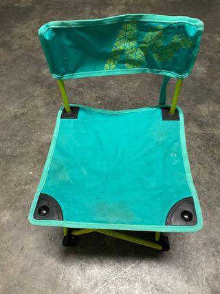 Conjunto de 3 sillas jardín/ camping