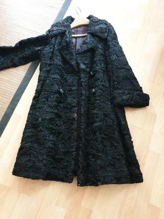 abrigo de Astracán ( piel auténtica)