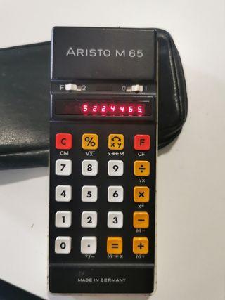 Calculadora Vintage Aristo M 65