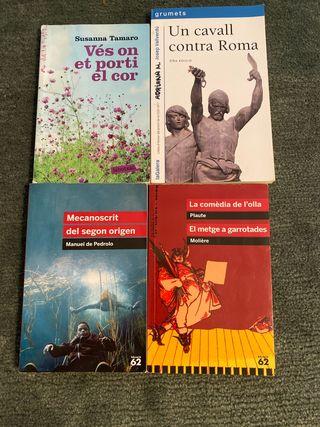 Llibres literatura catalana