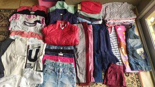 lote de ropa de niña 4 años