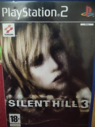 juego PS2 Silent Hill 3