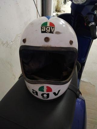 casco retro agv
