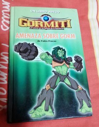 libro juego gormitis
