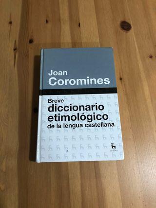 Diccionario etimológico de Joan Coromines