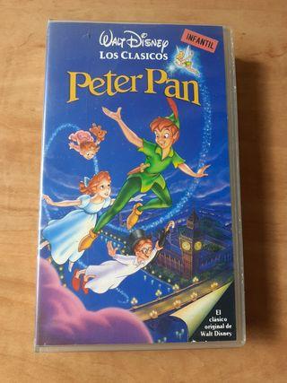 cinta vhs Peter pan