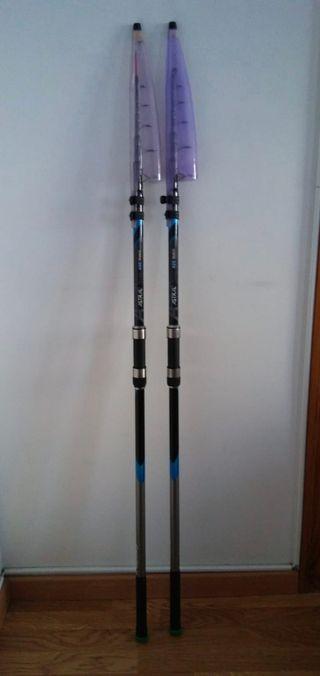 cañas de pescar telescopicas 4'20mt